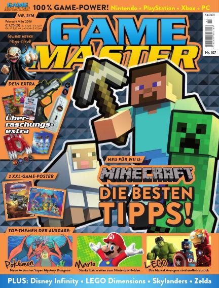 GAME MASTER (eingestellt) February 17, 2016 00:00