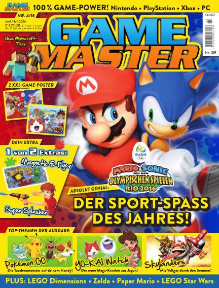 GAME MASTER (eingestellt) June 15, 2016 00:00