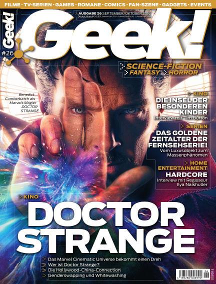 Geek! - DE August 23, 2016 00:00