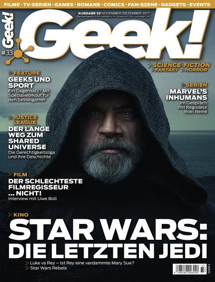 Geek! - DE October 25, 2017 00:00