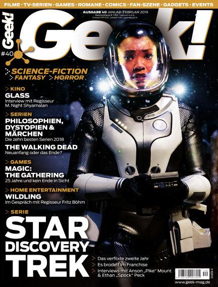 Geek! - DE December 19, 2018 00:00