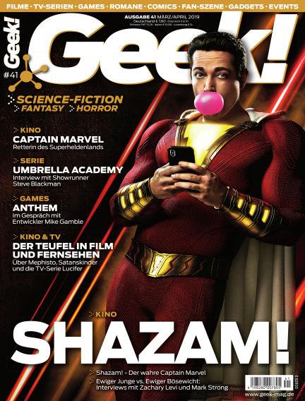 Geek! - DE February 20, 2019 00:00