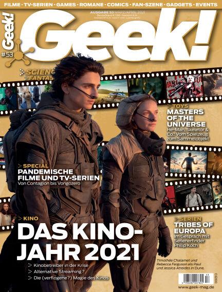 Geek! - DE February 17, 2021 00:00