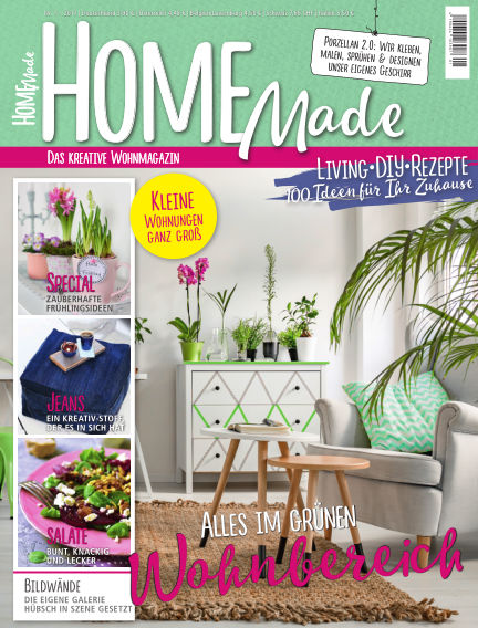 HomeMade – Das kreative Wohnmagazin