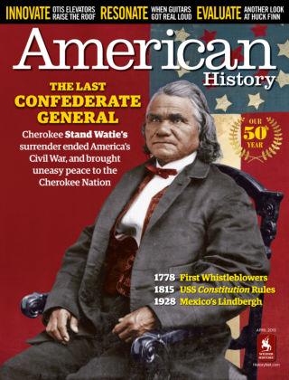 American History April 2015
