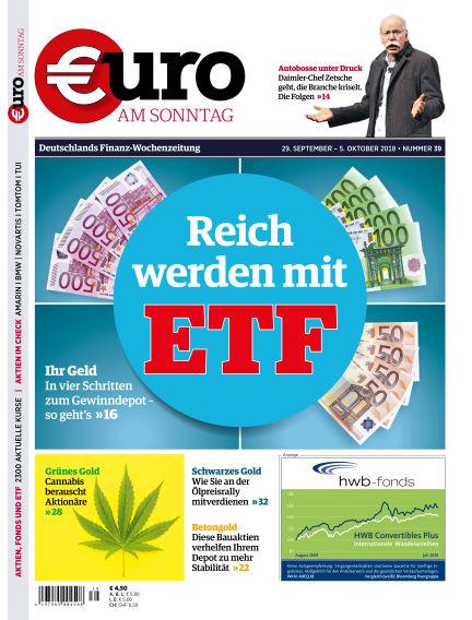 Euro am Sonntag September 29, 2018 00:00