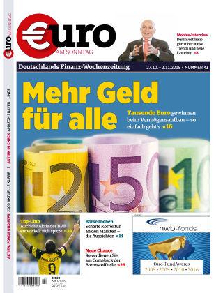 Euro am Sonntag 43 2018