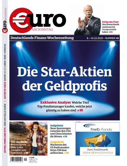 Euro am Sonntag December 08, 2018 00:00