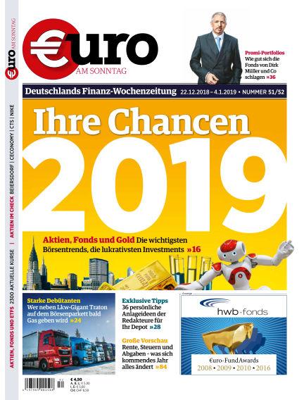 Euro am Sonntag December 22, 2018 00:00