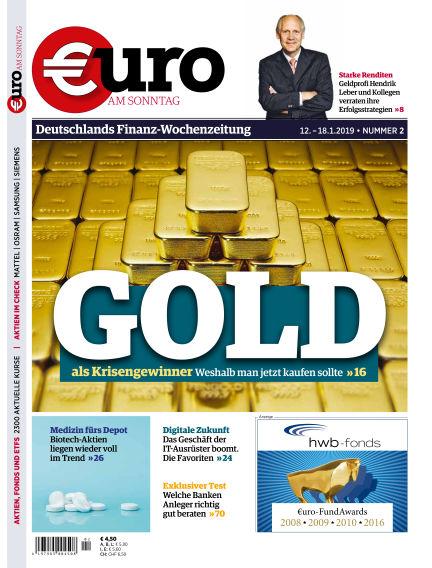 Euro am Sonntag January 12, 2019 00:00