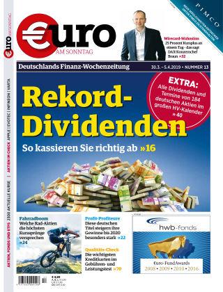 Euro am Sonntag 13 2019