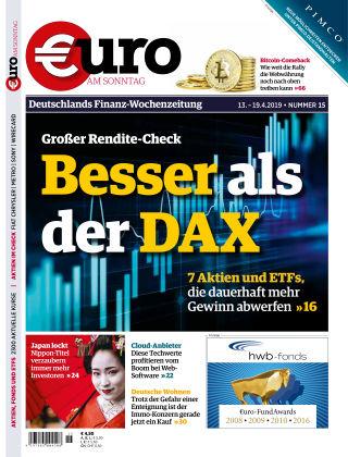 Euro am Sonntag 15 2019