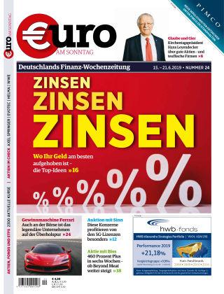 Euro am Sonntag 24 2019