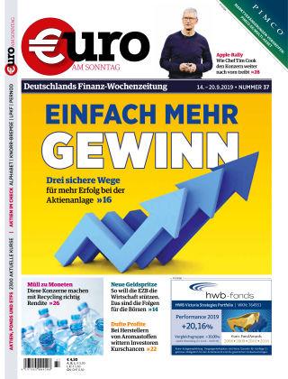 Euro am Sonntag 37 2019