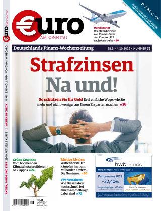 Euro am Sonntag 39 2019