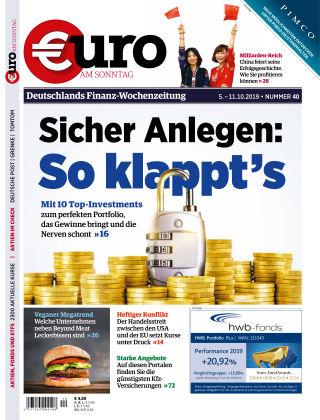 Euro am Sonntag 40 2019