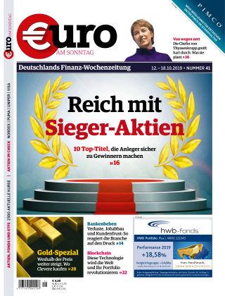 Euro am Sonntag 41 2019