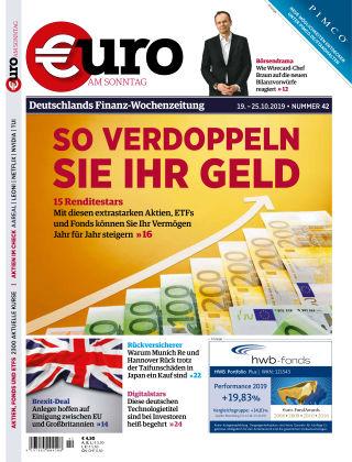 Euro am Sonntag 42 2019