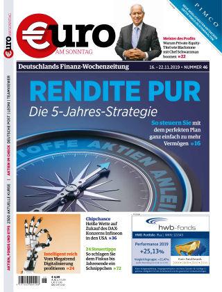 Euro am Sonntag 46 2019