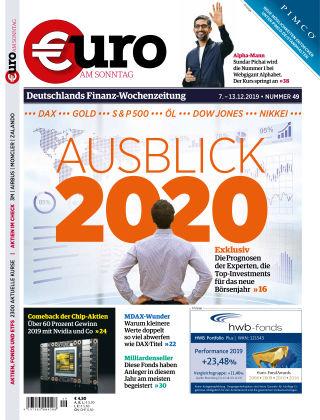 Euro am Sonntag 49 2019