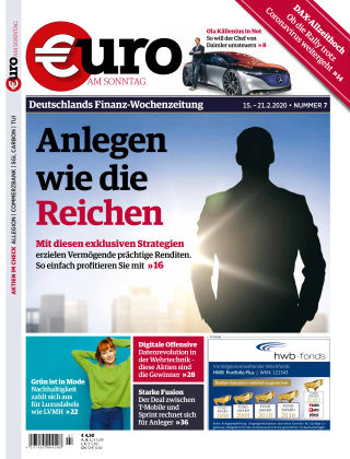 Euro am Sonntag 07 2020