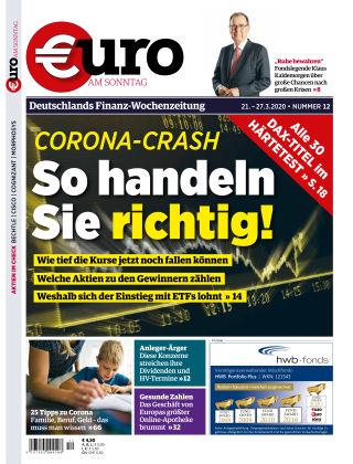 Euro am Sonntag 12 2020