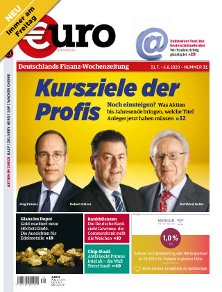 Euro am Sonntag 31 2020