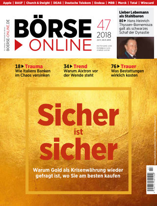 Börse Online 47 2018