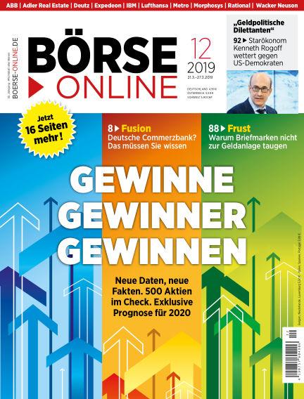 Börse Online March 21, 2019 00:00