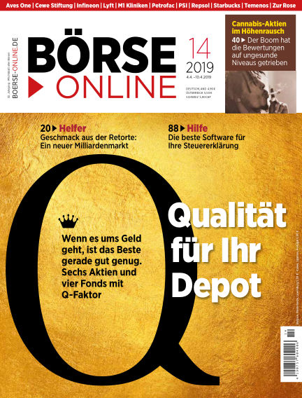 Börse Online April 04, 2019 00:00