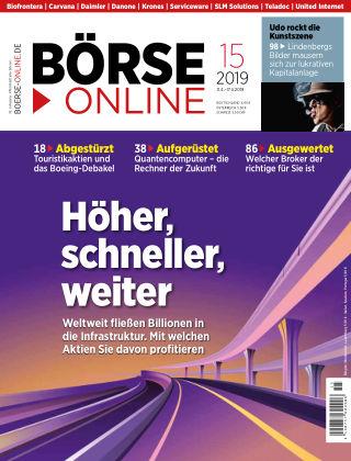 Börse Online 15 2019