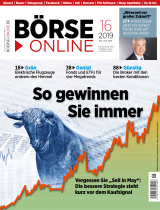 Börse Online 16 2019
