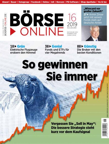 Börse Online April 18, 2019 00:00