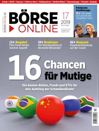 Börse Online 17 2019