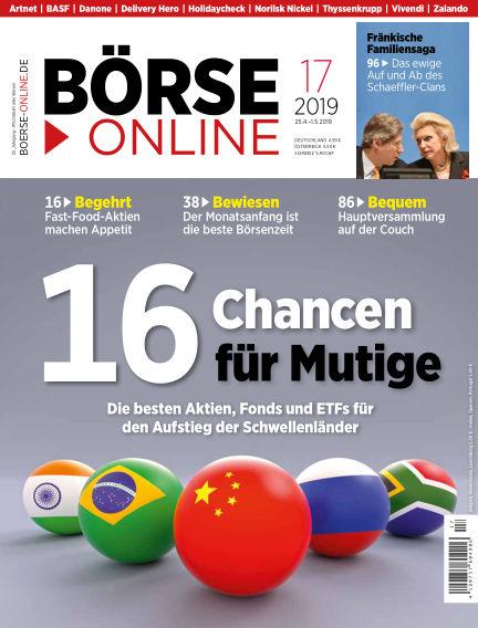 Börse Online April 25, 2019 00:00