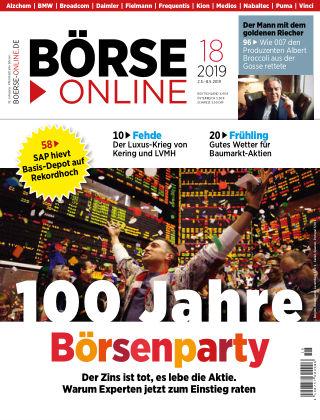 Börse Online 18 2019