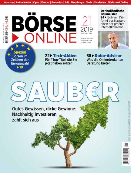 Börse Online May 23, 2019 00:00