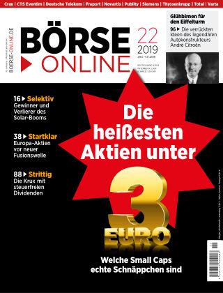 Börse Online 22 2019