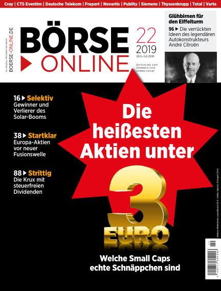 Börse Online May 29, 2019 00:00