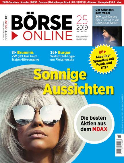 Börse Online June 19, 2019 00:00