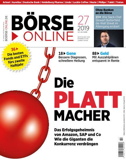 Börse Online July 04, 2019 00:00