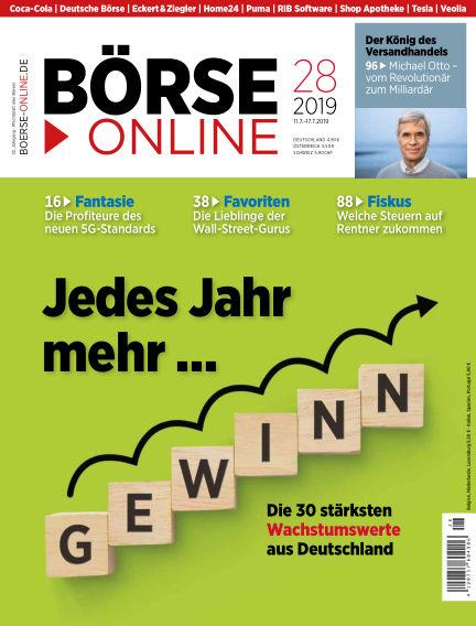 Börse Online July 11, 2019 00:00