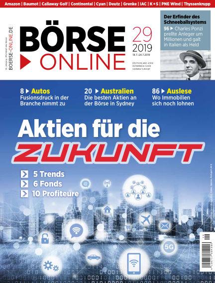 Börse Online July 18, 2019 00:00