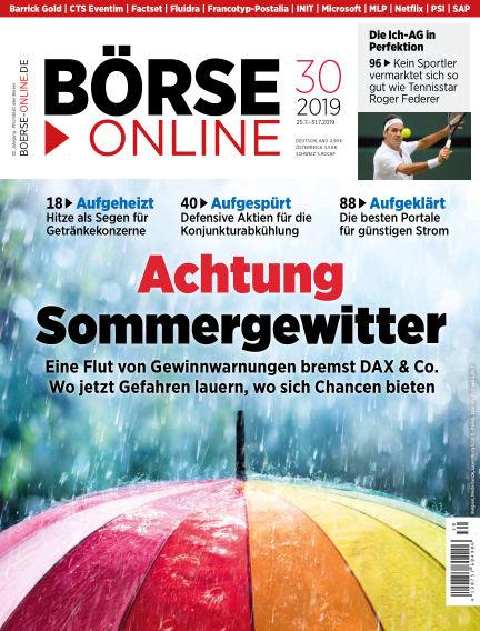 Börse Online July 25, 2019 00:00
