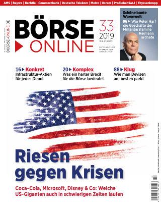Börse Online 33 2019