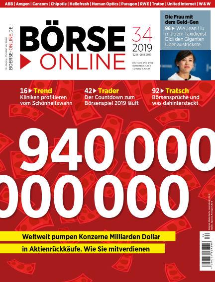 Börse Online August 22, 2019 00:00