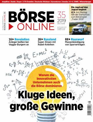 Börse Online 35 2019