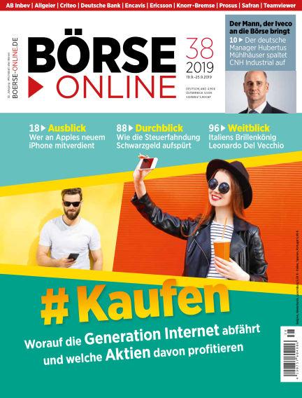 Börse Online September 19, 2019 00:00