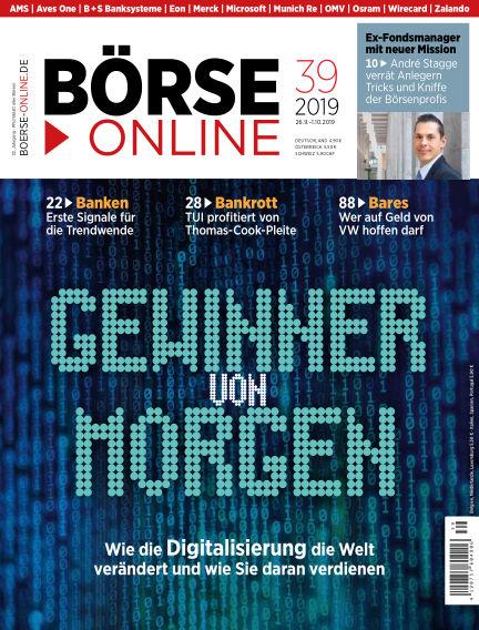 Börse Online September 26, 2019 00:00