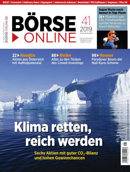 Börse Online October 10, 2019 00:00